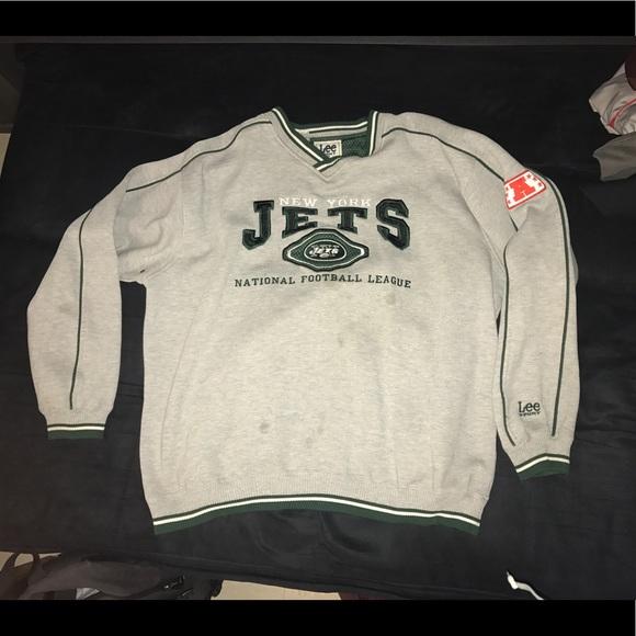 8701d496 Vintage New York Jets NFL Football Sweatshirt